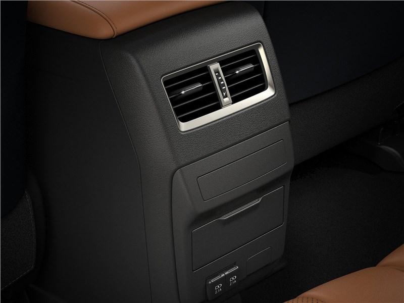 Lexus RX 2020 климат для второго ряда