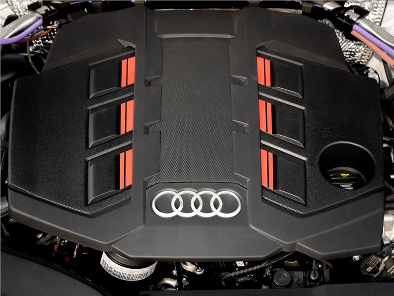 Audi S7 Sportback TDI 2020 двигатель