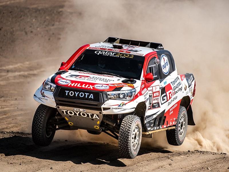 Toyota стартует на ралли Шелковый путь