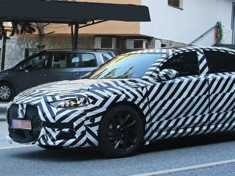 DS начал испытания конкурента BMW пятой серии Фото Авто Коломна