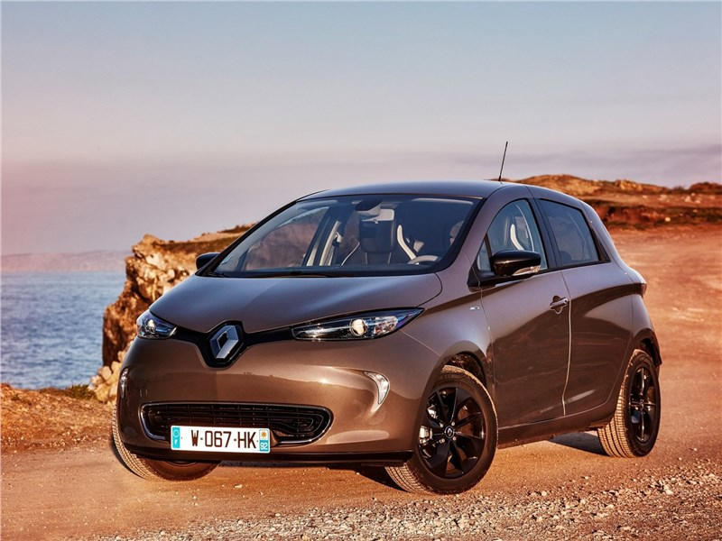 Renault Zoe 2017 вид спереди