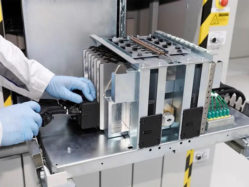 Volkswagen запустил производство батарей для электромобилей Фото Авто Коломна