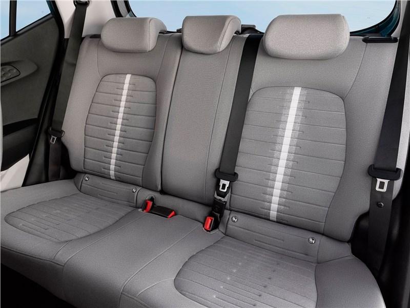 Hyundai i10 2020 задний диван