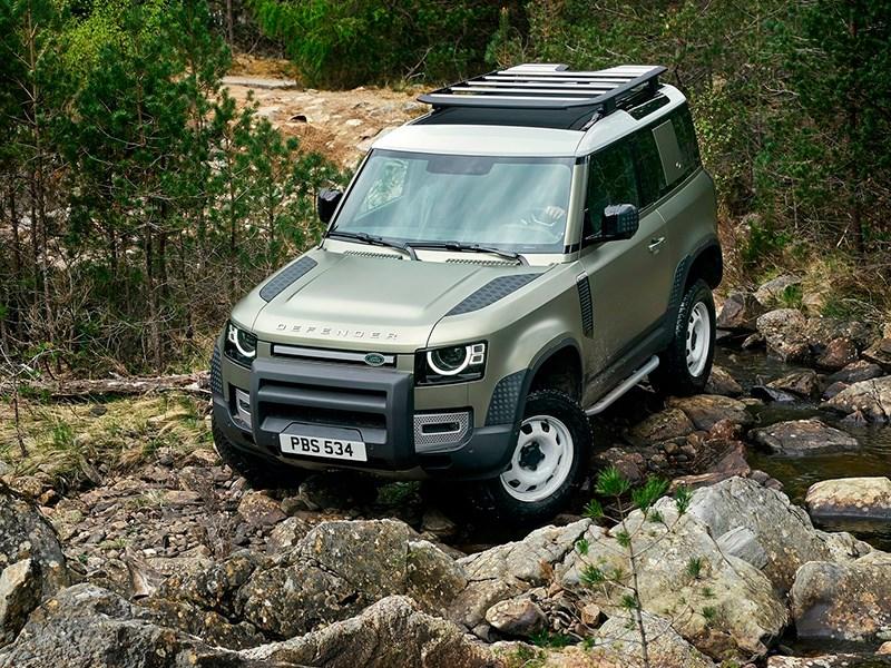 Новый Land Rover Defender: ждем еще год