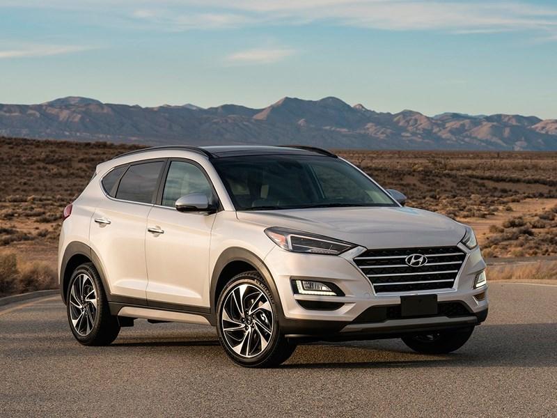 Российские кроссоверы Hyundai Santa Fe и Tucson получили новые двигатели Фото Авто Коломна