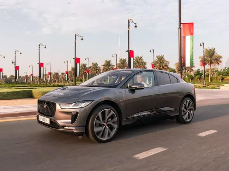 Jaguar I-Pace превратили в беспилотник