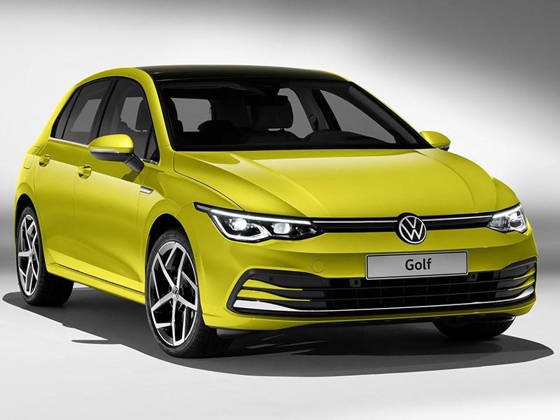 Volkswagen представил новый Golf Фото Авто Коломна