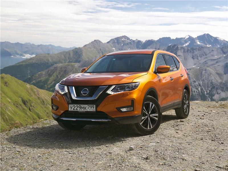 Nissan X-Trail 2018 Очная ставка