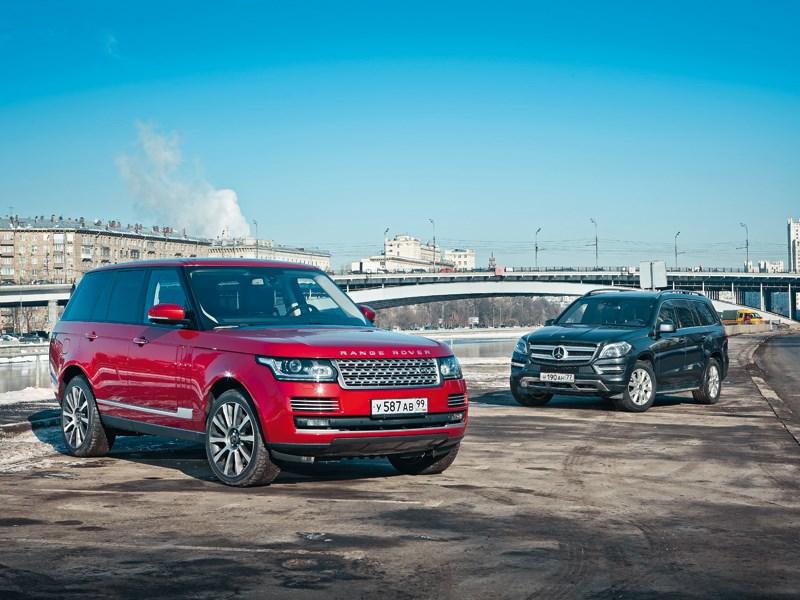 Land Rover Range Rover, Mercedes-Benz GL-Class