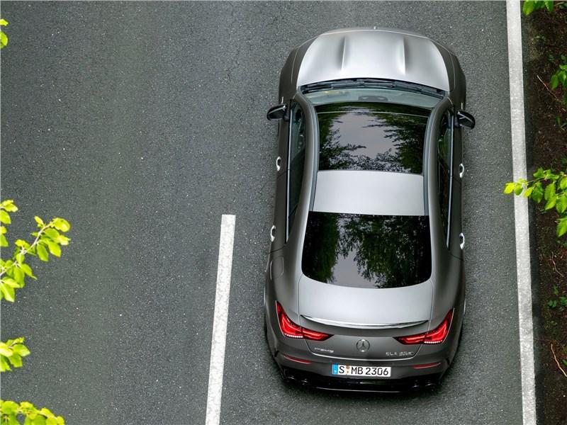 Mercedes-Benz CLA AMG 2020 вид сверху