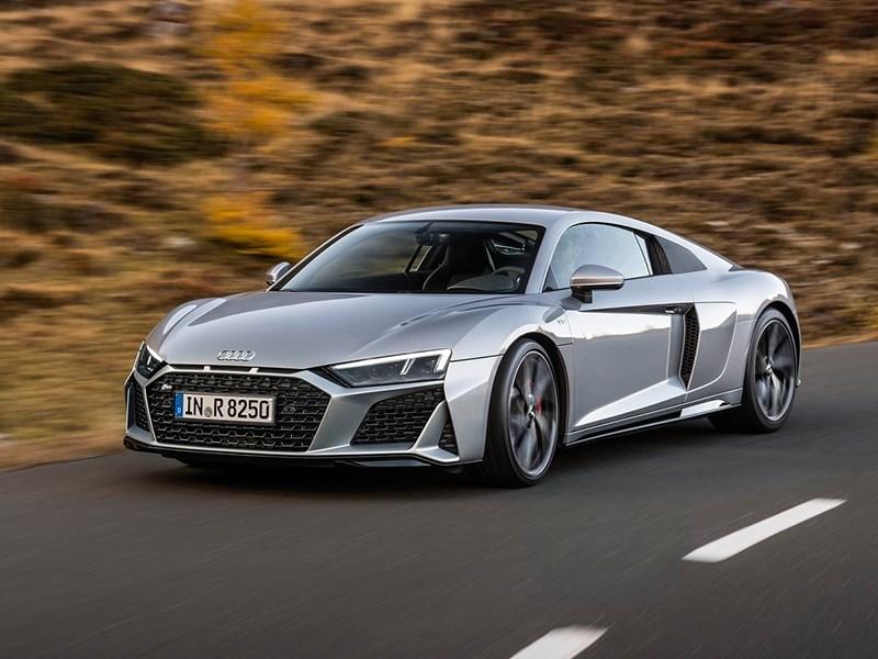 Audi R8 сделали заднеприводной Фото Авто Коломна