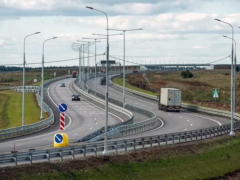 Платная трасса М11   строительство завершено Фото Авто Коломна