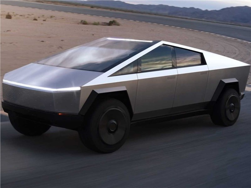 Tesla Cybertruck 2022 вид спереди
