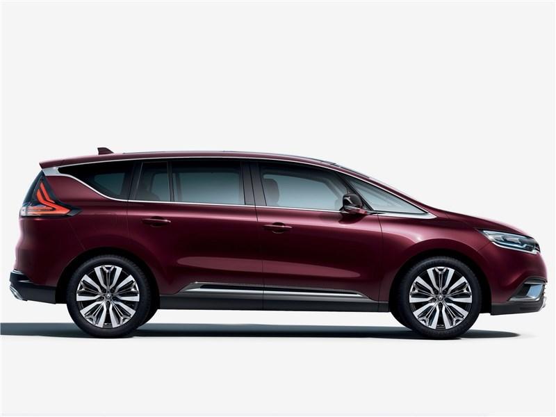 Renault Espace 2020 вид сбоку