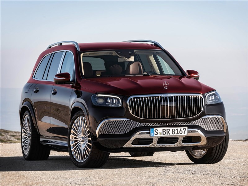 Mercedes-Benz GLS 600 Maybach 2021 вид спереди