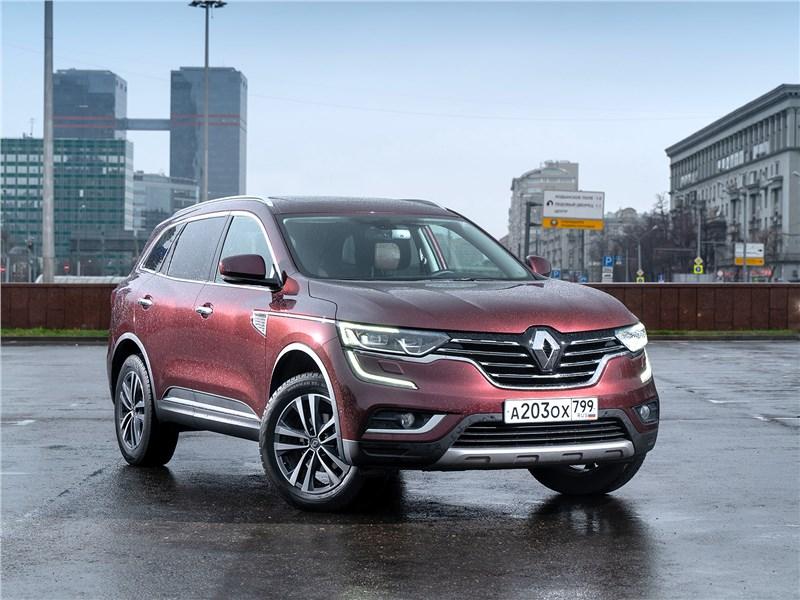 Инфоцентр: Чем подтверждает звание флагмана Renault Koleos
