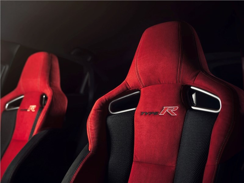 Honda Civic Type R 2018 кресла