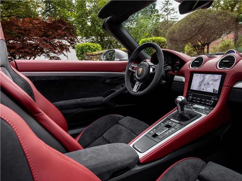 Porsche 718 Spyder 2020 салон
