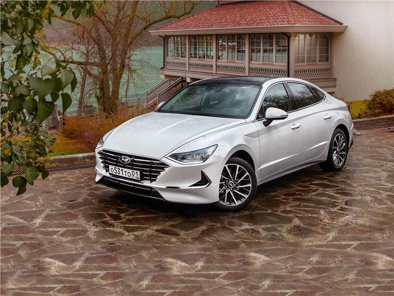 Hyundai Sonata - hyundai sonata 2020 - больше не такси