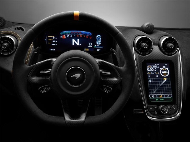 McLaren 600LT 2019 кокпит