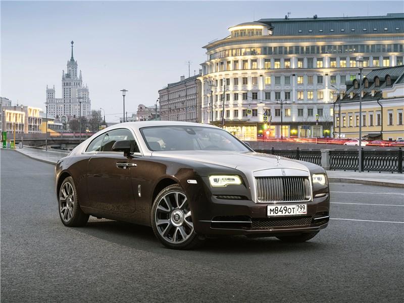 Что общего у Rolls Royce Wraith с дорогим вином Фото Авто Коломна
