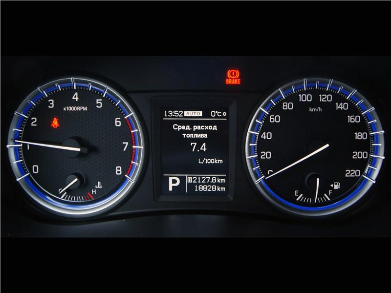 Suzuki SX4 2016 приборная панель