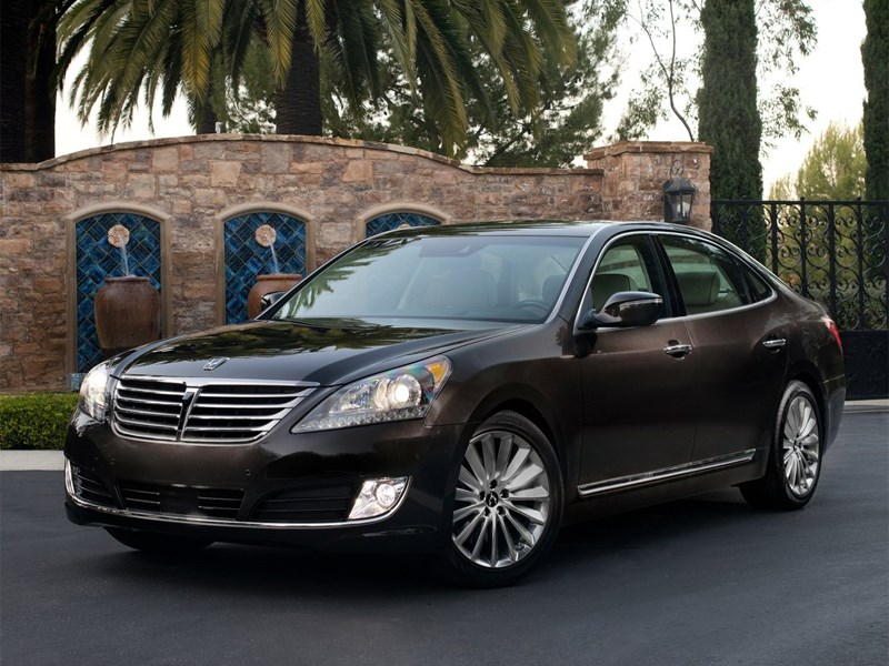 Новая версия Hyundai Equus была представлена в России
