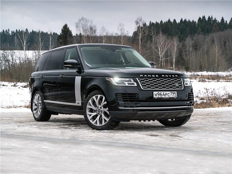 Мистические трансформации от Range Rover LWB