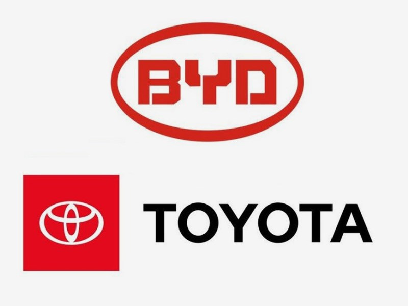 Toyota и BYD оформили СП по разработке и выпуску электромобилей