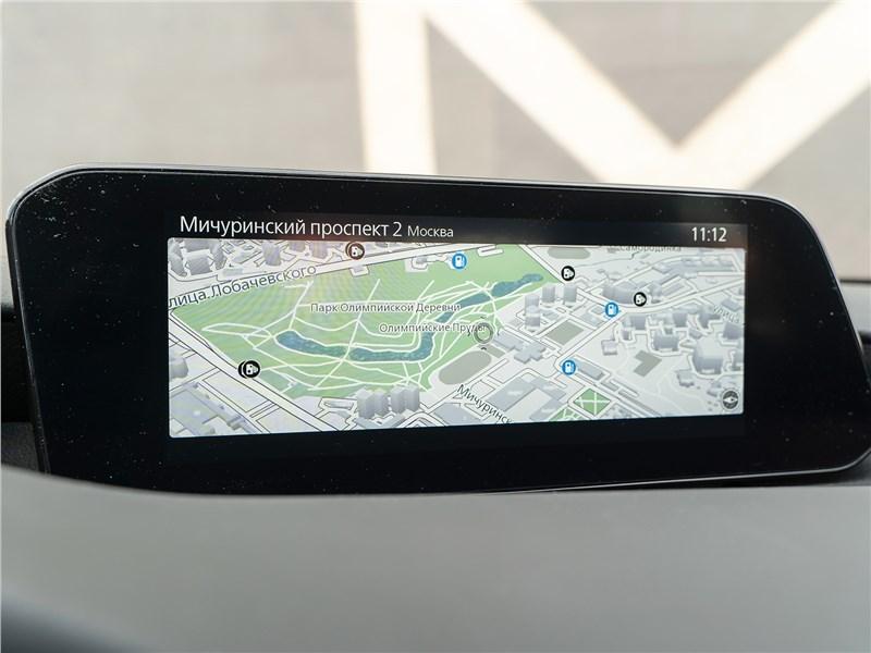 Mazda 3 2019 дисплей