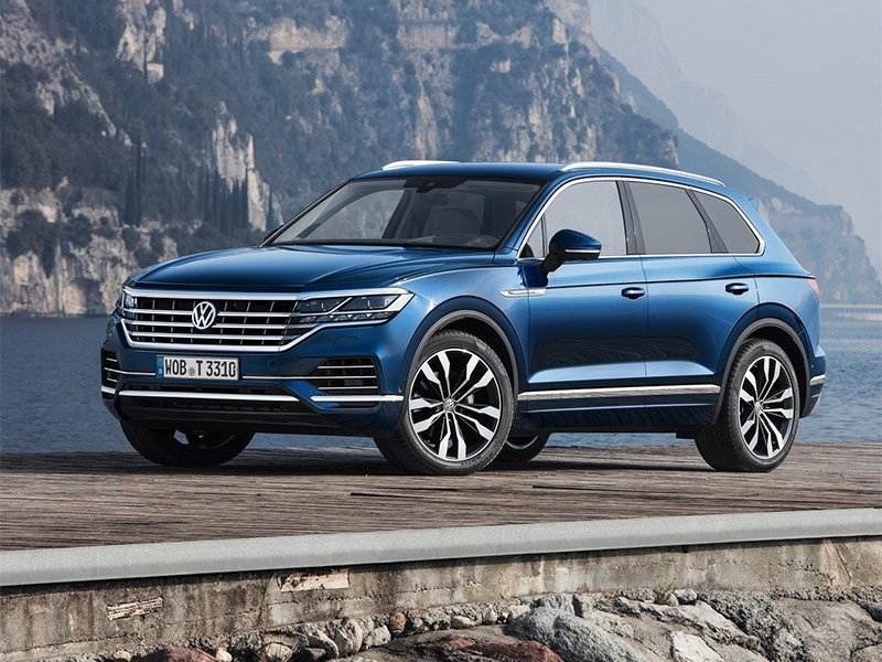 Volkswagen отзовет новые Touareg в России из-за протечки масла