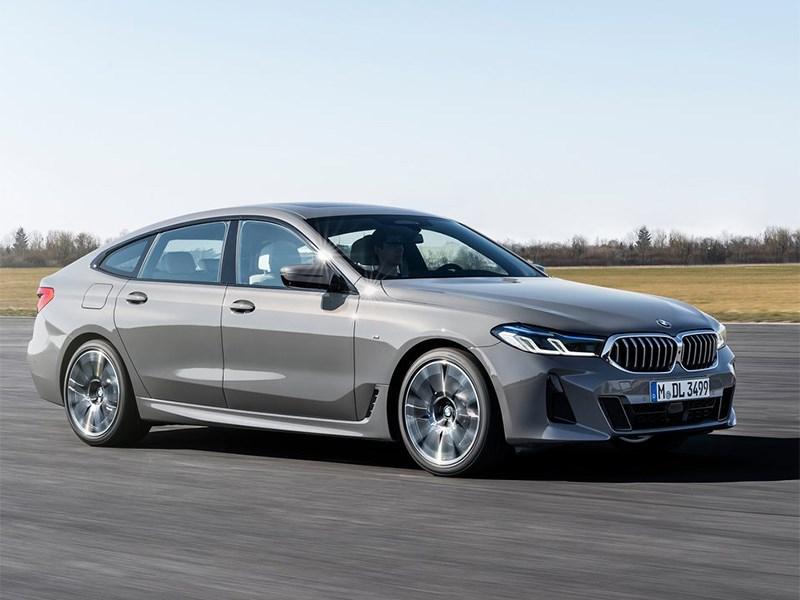 В Россию приехал новый BMW 6 GT