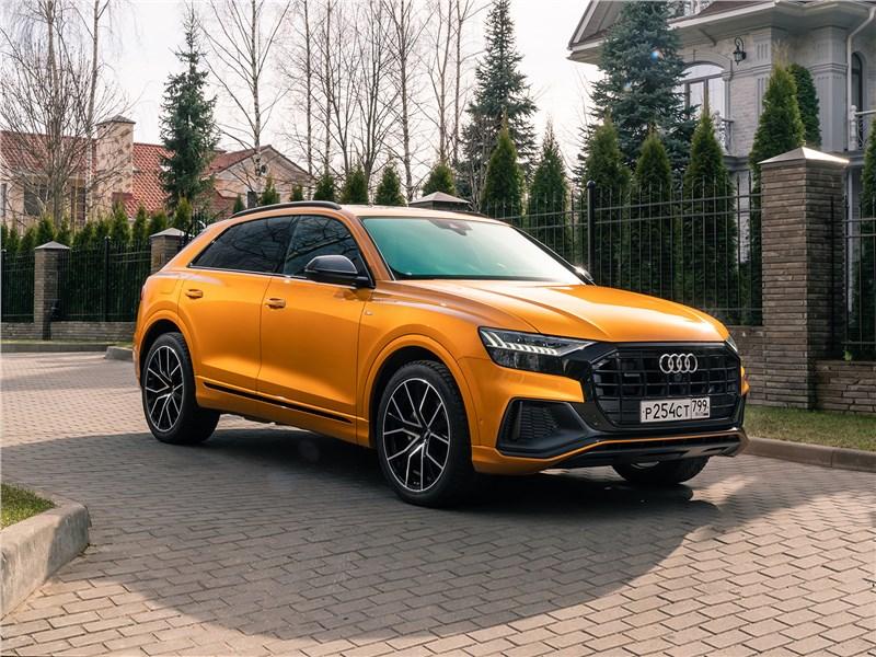 Audi Q8 - audi q8 2019 в качестве предмета вожделения