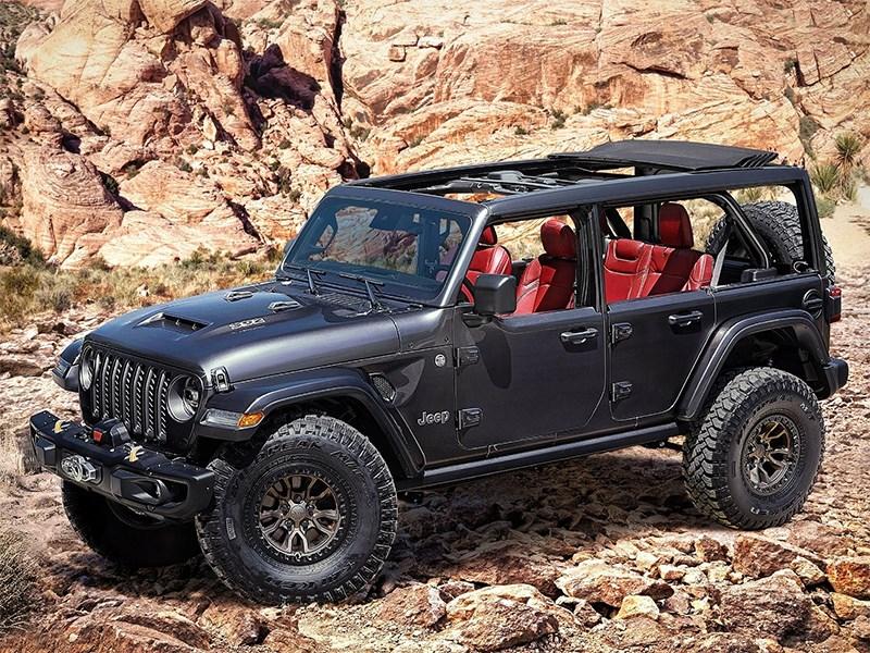 Jeep оснастил Wrangler 457-сильным мотором V8