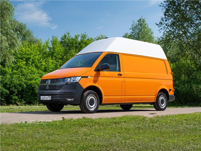 Какие резервы задействовала в Volkswagen Transporter доработанная платформа 6.1
