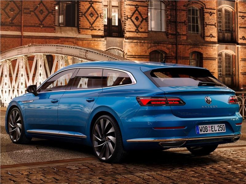 Volkswagen Arteon Shooting Brake (2021) вид сзади