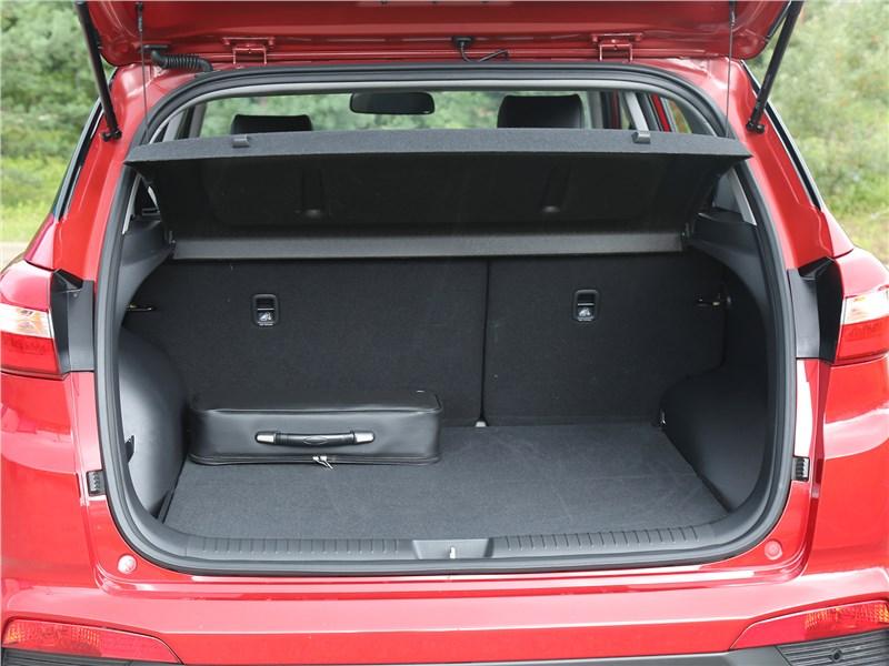 Hyundai Creta 2020 багажное отделение