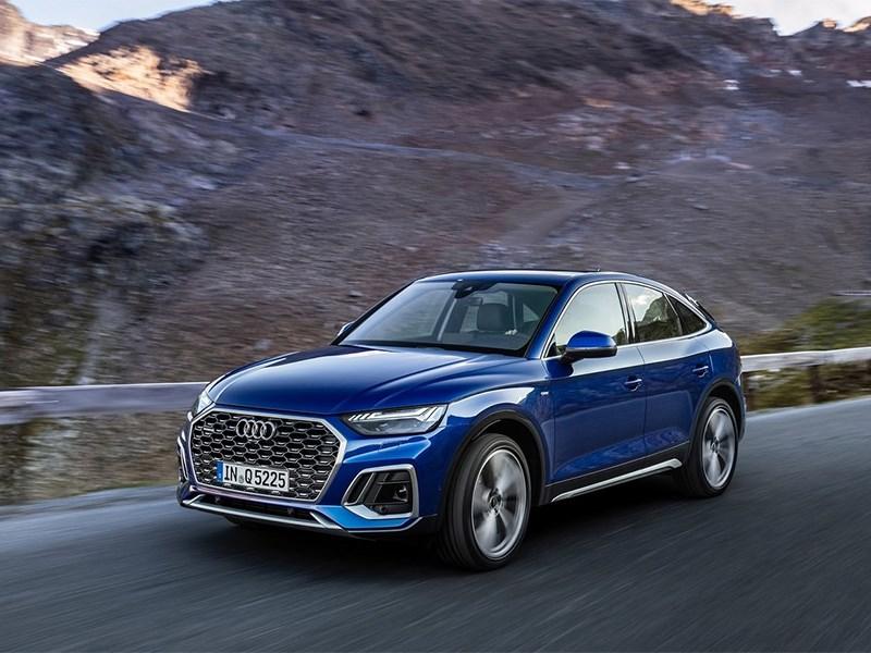 Audi представила Q5 с купеобразным кузовом - новость про Audi Q5
