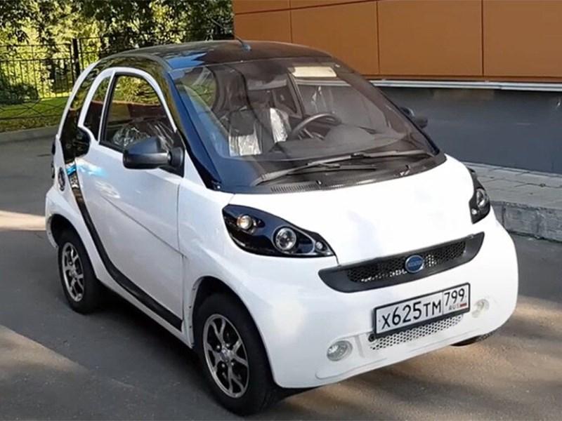 В Адыгее разработали и собрали электромобиль