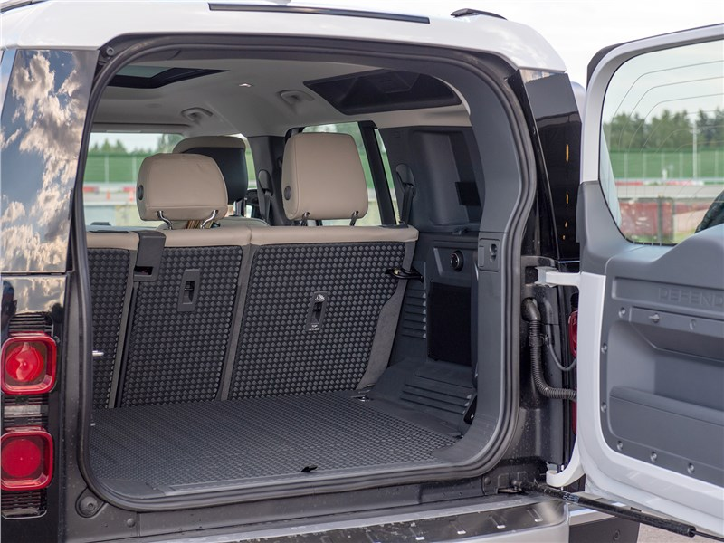 Land Rover Defender 110 2020 багажное отделение