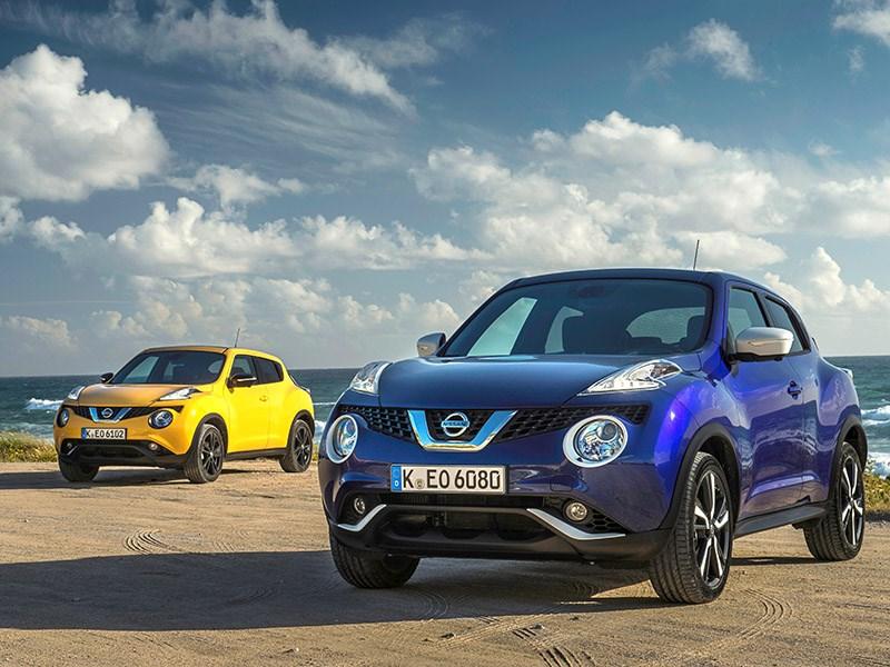Nissan возобновил продажи Juke в России