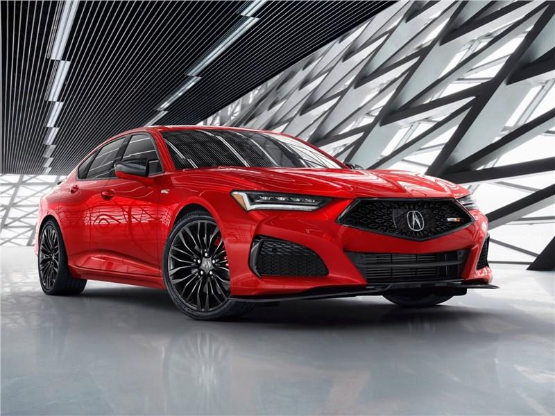 Acura TLX (2021) вид спереди