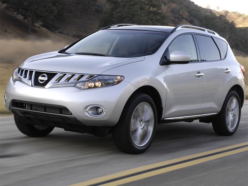 Nissan Murano 2013 модельного года получил ряд обновлений