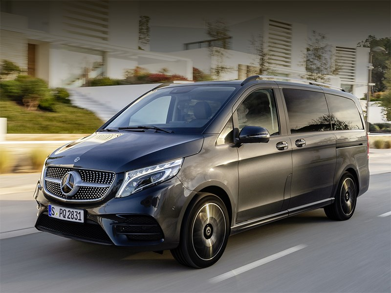 Минивэн Mercedes-Benz V-класса получил пневмоподвеску