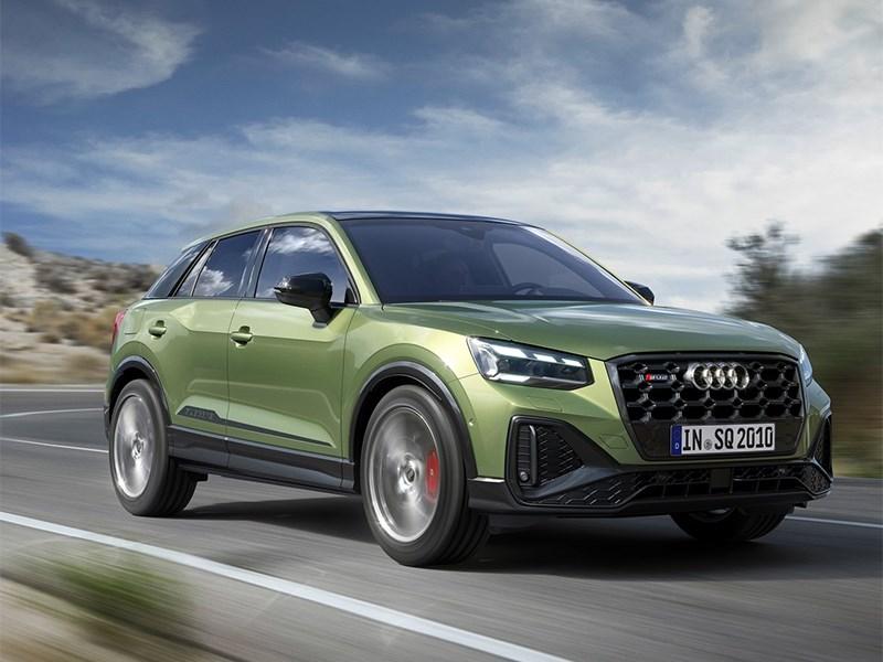 Audi обновила кроссовер SQ2