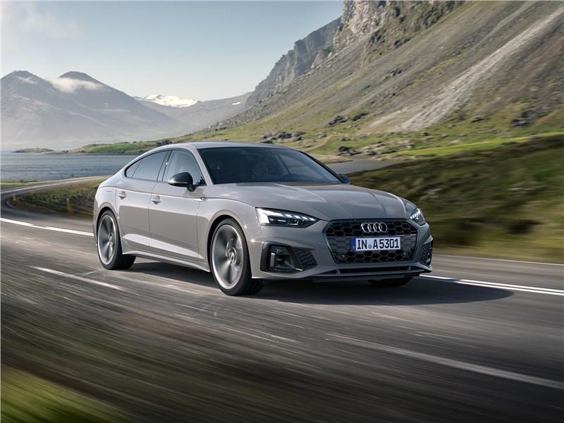 Инфоцентр: Audi A5 Sportback. Заводила