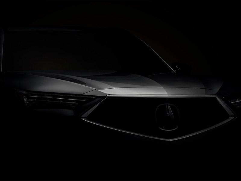 Acura анонсировала новый MDX