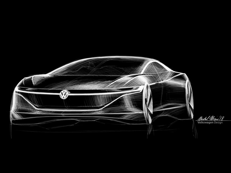 Новый флагман Volkswagen станет электрокаром