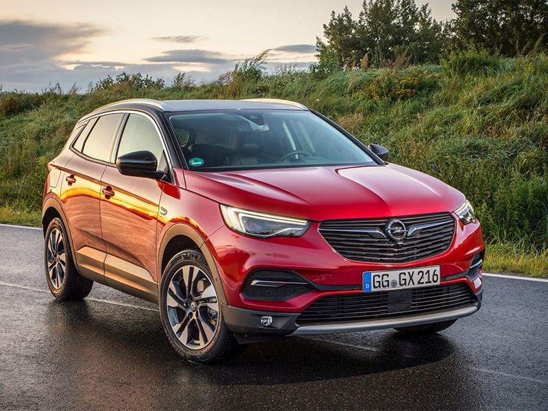 Opel Grandland X готов к обновлению
