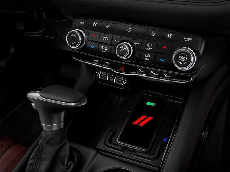 Dodge Durango (2021) управление климатом